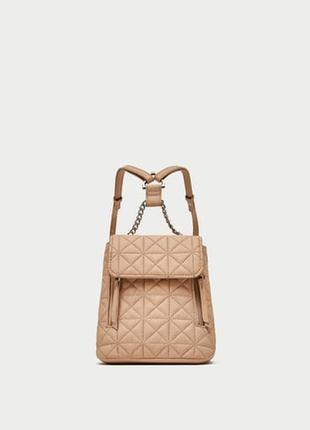 Мини - рюкзак zara 2018