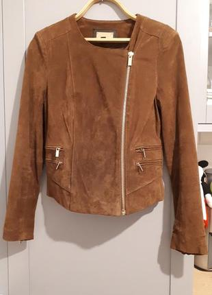 Куртка косуха замшевая mango p.m