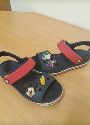 Crocs c11 сандали, босоножки 17.5см стелька