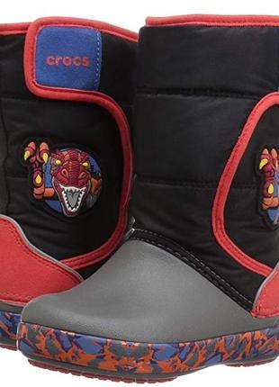Crocs сапожки ботинки зима 23-24