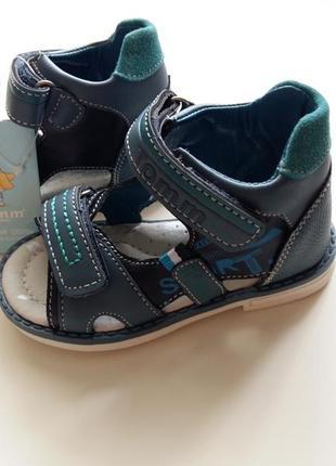 В наличии сандалии/босоножки для мальчиков tom.m 22 размер