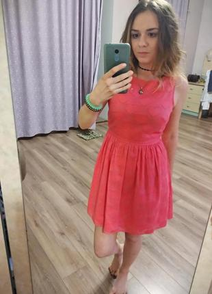 Милейшее, розовое платьице new look3 фото