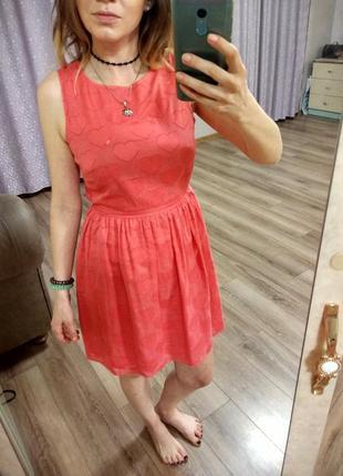 Милейшее, розовое платьице new look4 фото