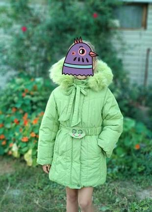 Пальто-куртка зимнее, тм донило, оригинал.