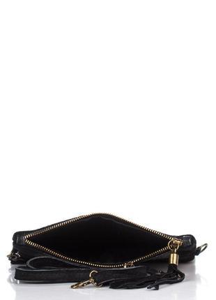 e00252408229 Кожаная чёрная сумка-клатч tecla италия разные цвета, цена - 800 грн ...