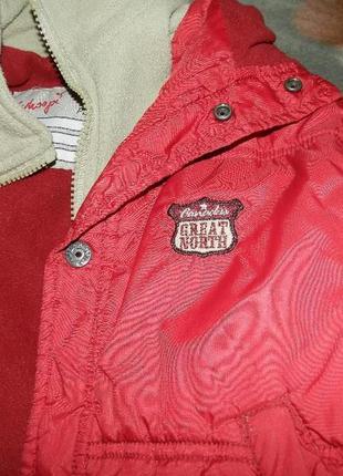 Куртка для девочки на 3-4 года, рост 98-104