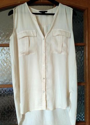 Блуза без рукавов h&m