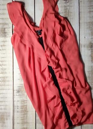 Платье на застежках спереди h&m