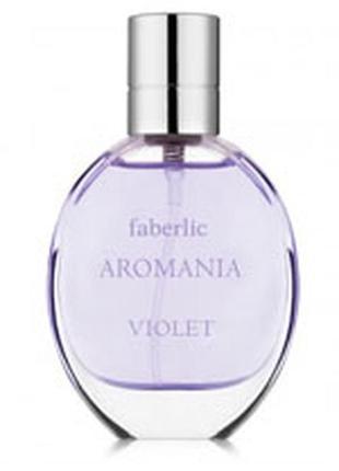 Туалетная вода для женщин aromania violet