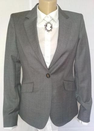 Брендовый стильный пиджак жакет,р 38