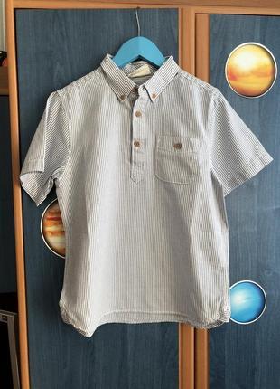 Рубашка короткий рукав h&m