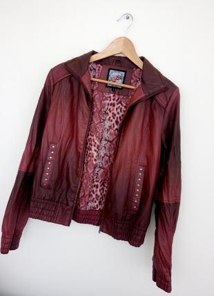 Куртка кожзам р.sm