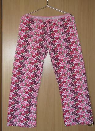 Штаны коттон домашние пижамные фирмы dunnes (великобритания)