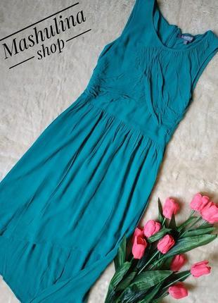 Красивое вискозное платье от marks&spencer