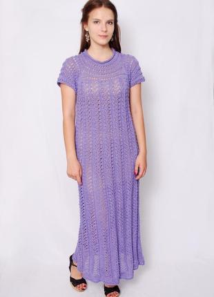 Ажурное кружевное платье