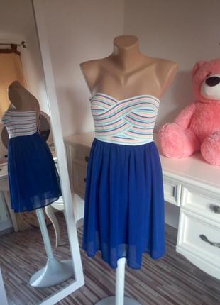Нарядное воздушное платьечко (xs)