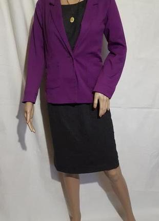 Пиджак женский  жакет накидка кардиган s m h&m фуксия