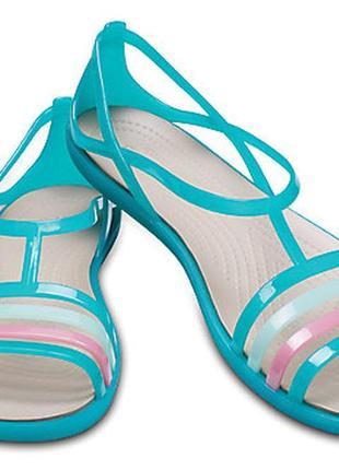 Элегантные сандалии crocs isabella sandal, 9 размер.