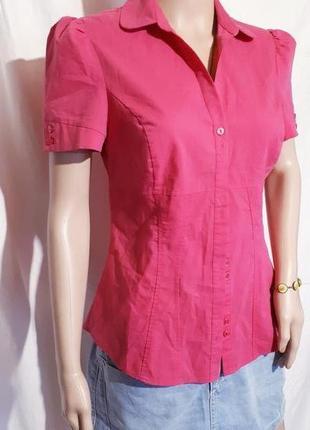 Рубашка женская atmosphere блуза с коротким рукавчиком