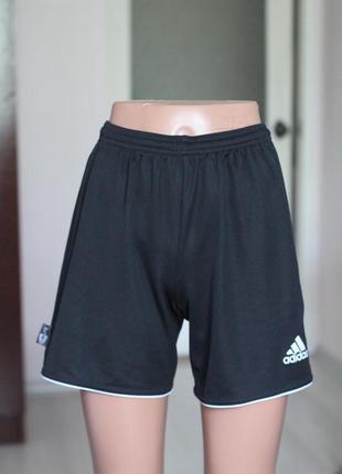 Черные шорты adidas оригинал 34 размер спортивные шорты адидас