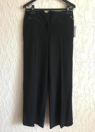 Черные брюки с двумя пуговицами geоrge
