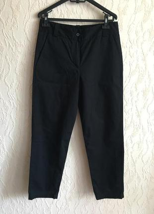 Черные укороченные штаны french connection