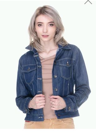Новая джинсовая куртка unlimited, италия, дешево.