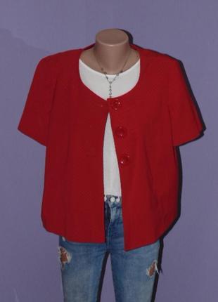 Стильный/яркий пиджак 18 размера