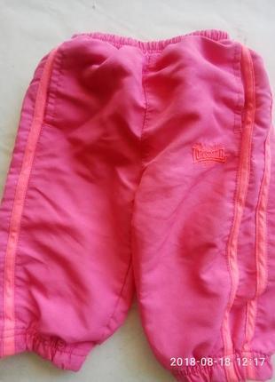 Спортивные штанишки  для маленькой  принцессы1