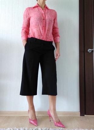 Классные  юбка-шорты, брюки, кюлоты  h&m р.38