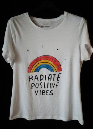 Белая футболка размер 14