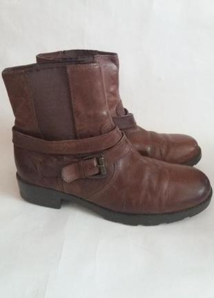 Ботинки кожаные размер 38