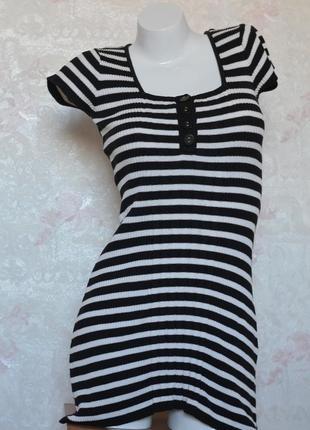 Коротке плаття h&m в полоску8️⃣7️⃣короткое платье