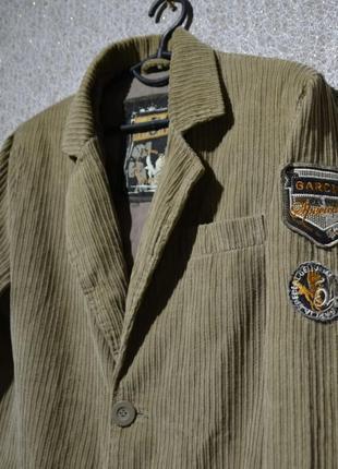 Брендовий піджак чоловічий garcia s-l [німеччина] (пиджак мужской)