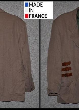 Брендовий піджак чоловічий visconti xl-xxl [франція] (пиджак мужской)