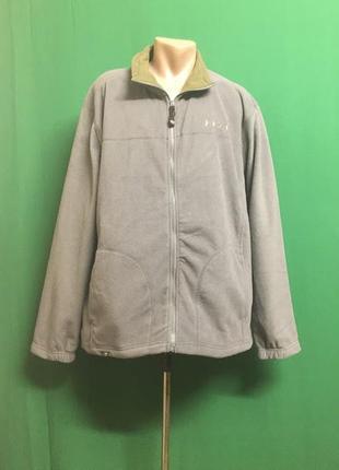 Флисовая куртка-толстовка бренда x-peak sport&technlogy
