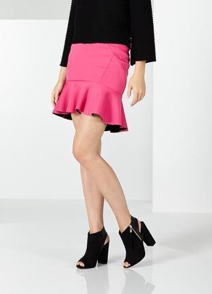 Женская юбка mohito с воланами. новая с биркой.