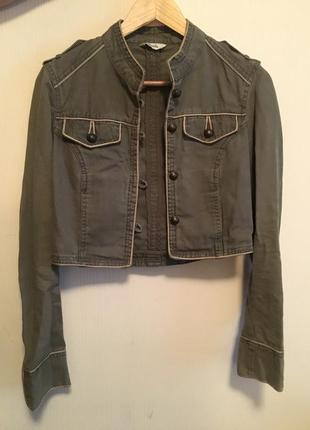 Джинсовая куртка pimkie