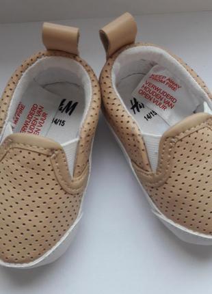 H&m мокасины тапочки туфли