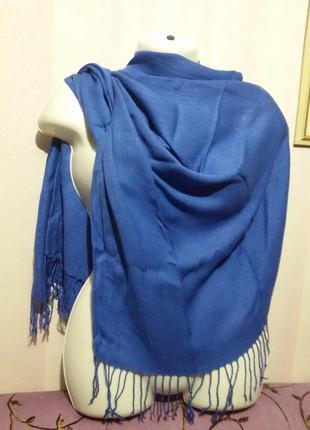 Большой вискозный шарф - палантин