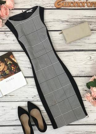Платье для делового гардероба с комбинацией тканей  dr1833045  h&m