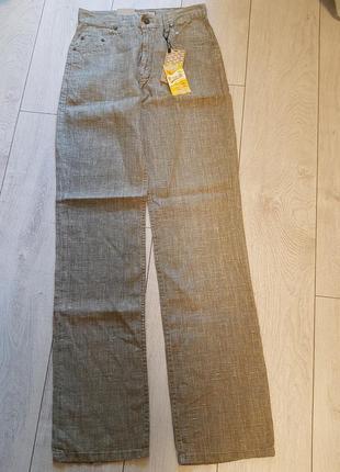 Мужские льняные штаны