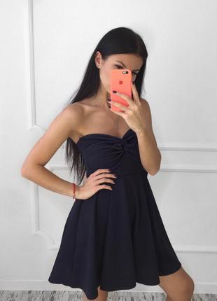 Платье без бретель