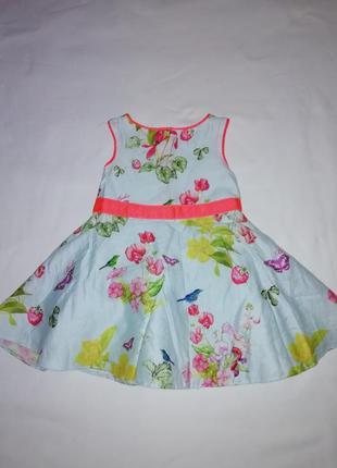 Нарядные платье 3-6 месяцев