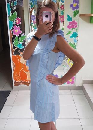 Новый сарафан-платье от h&m, 100% хлопок