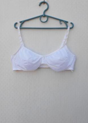 Белый сексуальный эротический бюстгальтер 38b 85b