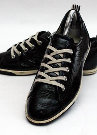 Кожаные туфли ессо. стелька 25 см