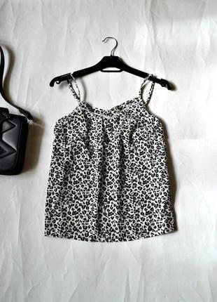 Базовая блуза на тонких бретелях (xs-s)