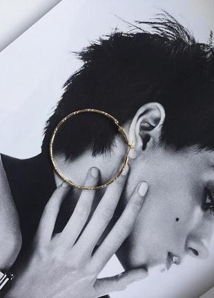 Винтажные большие серьги кольца \ много украшений