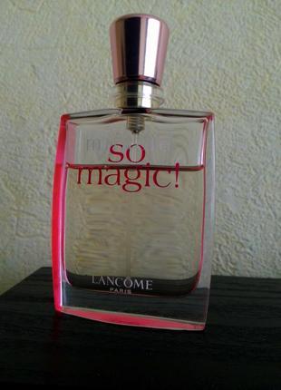 Парфюмированная вода lancome miracle so magic